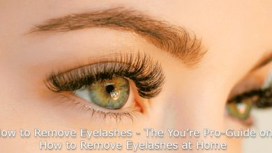 Photo of How To Take Off  Eyelashes Extensions At Home
